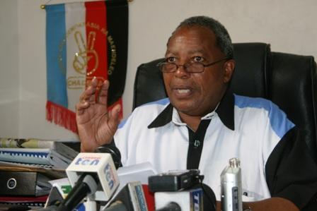 Mgombea wa Chadema Dr.Wilbroad  Slaa