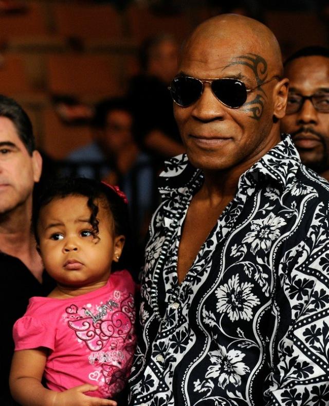 Mike Tyson na mwanae